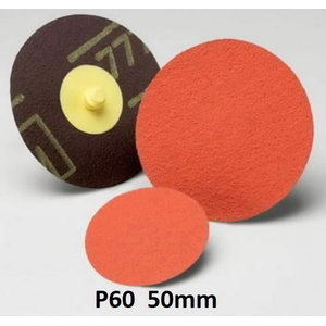 Grinding discs 50mm P60 777F Roloc, 3M