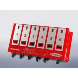 Akulaadija ACCTIVA Multicharger 6 x 12V / 6 x 6A, Fronius