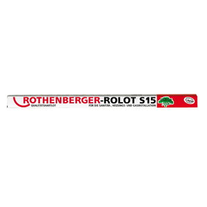 ROLOT S 15 cietlodes stieņi, 1 kg, 2x2 mm, Rothenberger