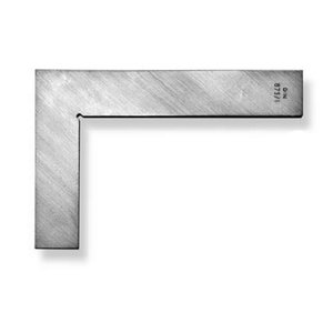 Precision square model 401/250x165mm stainless steel, Scala