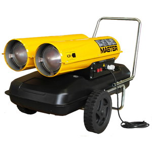 Tiesioginio degimo dyzelinis šildytuvas B 300 CED, 88 kW