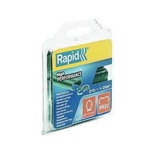 Klambrid Zn, roheline VR22   5-11mm,  blisterpakend  215tk, Rapid