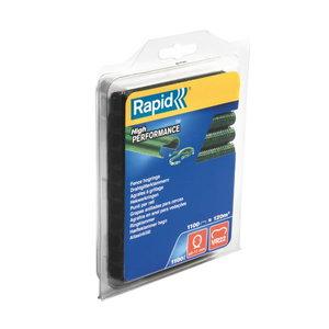 R:Hog Ring VR22/ 1.1M green Blister 5-11mm, Rapid