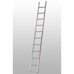Straight ladder, 18 steps, Hymer