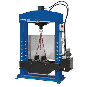 Hüdropress 100T hüdroajamiga WPP 100 HBK, Metallkraft