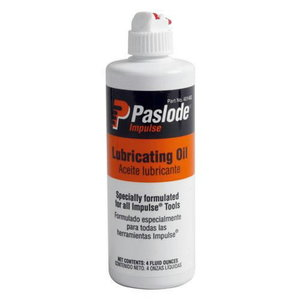 Lubrication oil for impulse guns, Paslode
