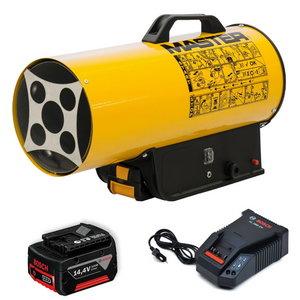Gāzes sildītājs BLP 17 M DC (with battery), Master