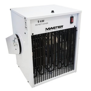 Electric heater hangable TR 9, 380V 9 kW, Master