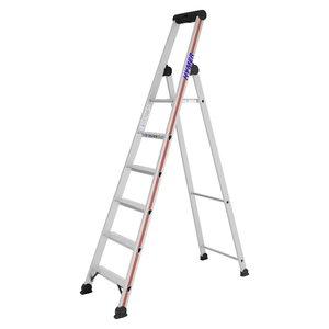 Freestanding step ladder, SC 40, 6 steps 4026, Hymer