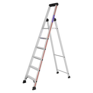 Freestanding step ladder, SC 40, 6 steps 4026, Hymer