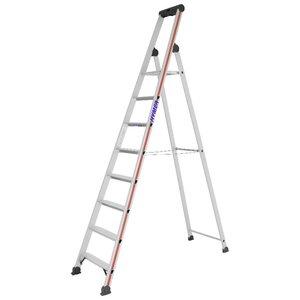 SC40 step ladder with safety platform 4026, 8 steps 4026, Hymer