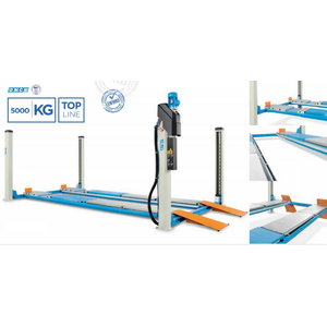 4-column lift 403/C, 5T,  5770mm, for wheel alignment. OMCN, Omcn