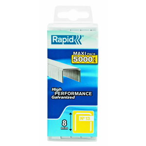 Staples 13/8 5000pcs, PP Box, Rapid