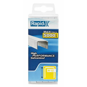 Staples 13/10 5000pcs, PP Box, Rapid