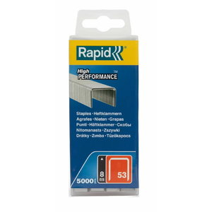 Staples 53/8 5000pcs, PP Box, Rapid