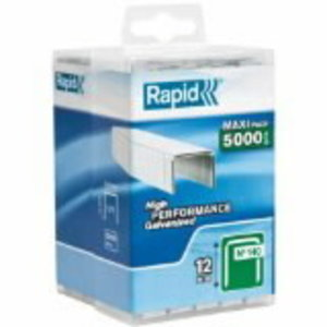 Staples 140/12 5000pcs, PP Box, Rapid