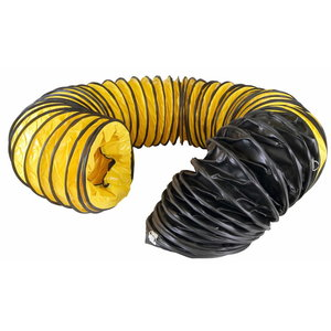 FLEXIBLE TUBE YELLOW-BLACK 610 MM X 760 CM BV 290E, Master