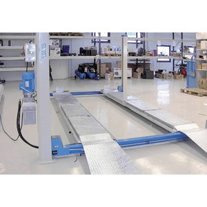 4-column lift 403/C, 5T,  5770mm, for wheel alignment. OMCN