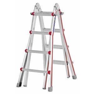 Telescopic ladder SC 40, 4x4 steps, Hymer