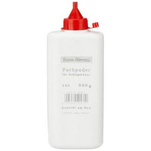 Paint powder for marking cord, red, 500g, Stabila