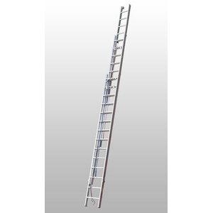 Kombinētās trepes 3x16 pakāpieni 4,69/11,44m 4061, Hymer