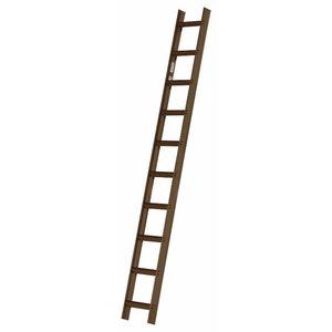 Roof ladder 10 steps 2,8 m 4093, Hymer