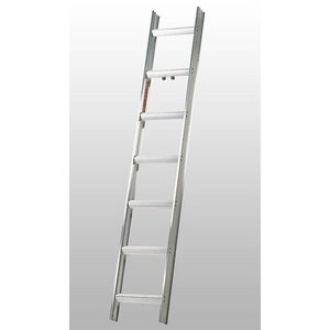 Roof ladder 14 steps 3,9 m 4095, Hymer