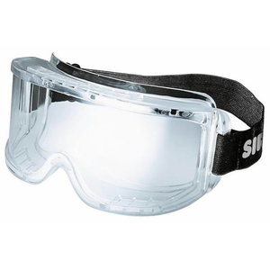 """Safety goggles """"Mercurio"""" clear lense and frame, Sir Safety System"""