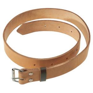 Heavy-duty logger leather belt, Oregon