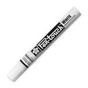 Marķieris PEN-TOUCH balts, vidēji biezs 2,0mm