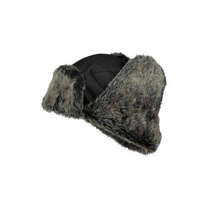 Winter fur hat 4268+, black STD, Dimex