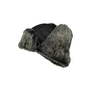 Winter fur hat 4268+, black STD, Dimex