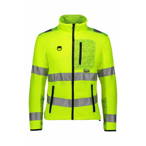 Knitted jacket  4281+ Hi-viz yellow M, Dimex