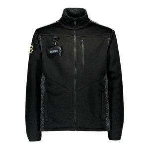 Kootud jakk 4282+, must L