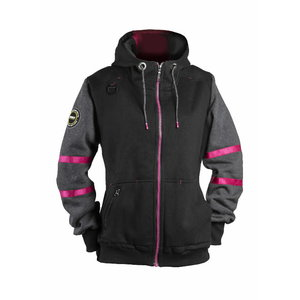 Džemperis  4332+, moteriškas, juoda, pilka 2XL, , Dimex