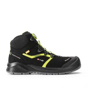 Safety boots Scatto BOA Resolute, black/yellow, S3 ESD SRC, Sixton Peak
