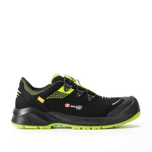 Safety shoes Forza BOA Resolute, black/yellow, S3 ESD SRC 47, Sixton Peak
