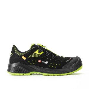 Safety shoes Forza BOA Resolute, black/yellow, S1P ESD SRC 47, Sixton Peak