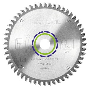 Saeketas 240x2,8x30, TF80, -5°. Alumiinium, klaaskiudplast, Festool