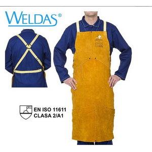Golden Brown bib apron 107 x 80 cm, Weldas