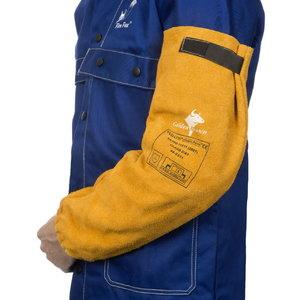 Suvirintojo rankovės Golden Brown, 52 cm, pora STD, Weldas