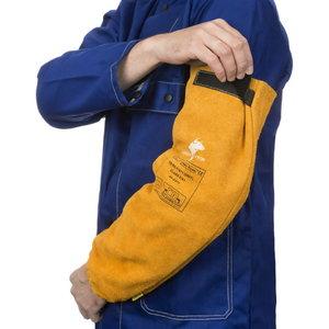 Suvirintojo rankovės Golden Brown XL, 52 cm, pora STD, Weldas