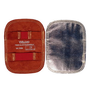 Hand Shield, Leather + Fiberglass, Weldas