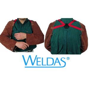 """58 cm (23"""") length Lava Brown sleeves, Weldas"""