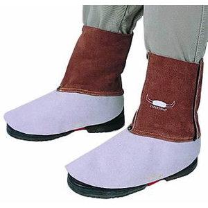 Ādas materiāla kāju aizsargi metinātājiem, Weldas