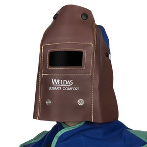 Foldable mask, suitable for welding glasses 110 x 50 mm, Weldas