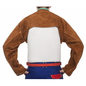 Lava Brown bib apron for 44-7800/33-2300, 60cm wide 91 cm, Weldas