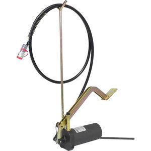 Hydraulic foot pump set, 4 pcs, Kstools