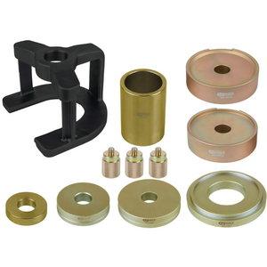 Wheel bearing set, rear for Mercedes, 11 pcs, KS tools
