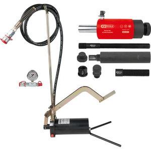 Hüdrauliline seade, 22t,  pumba ja manomeetriga, 15-osa, KS Tools